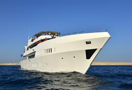 MY Blue Liveaboard Red Sea