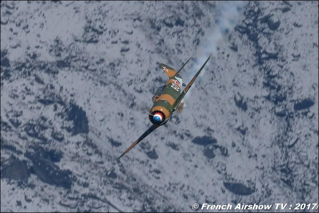 Yak 11 - AéroRétro F-AZJB , Coupe du Monde Saut à Ski – Courchevel, worldcupcourchevel 2017, FIS, show aerien , Meeting Aerien 2017