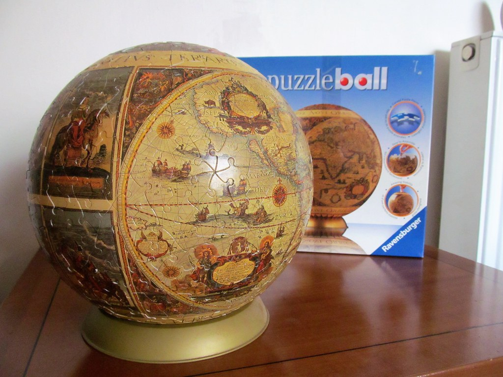 Historical world map ravensburger puzzleball no 11 072 8 flickr historical world map by pefkosmad historical world map by pefkosmad gumiabroncs Gallery