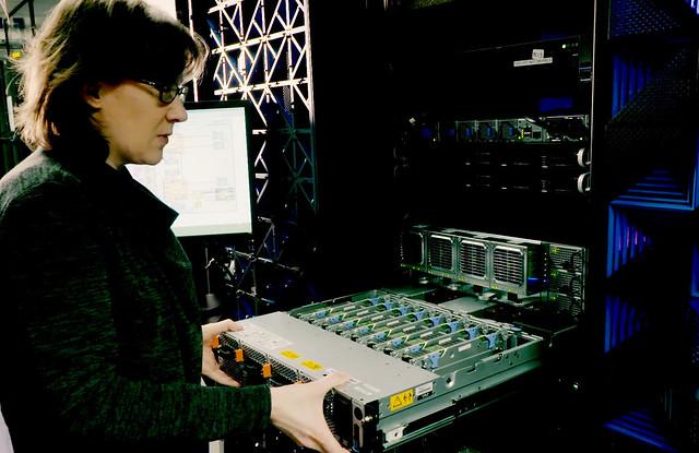 IBM Fellow Hillery Hunter develops new software enabling unprecedented GPU processing speeds.