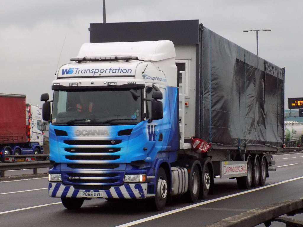 ws transportation po65uvu 6x296 scania r450 taken m6 besc u2026 flickr
