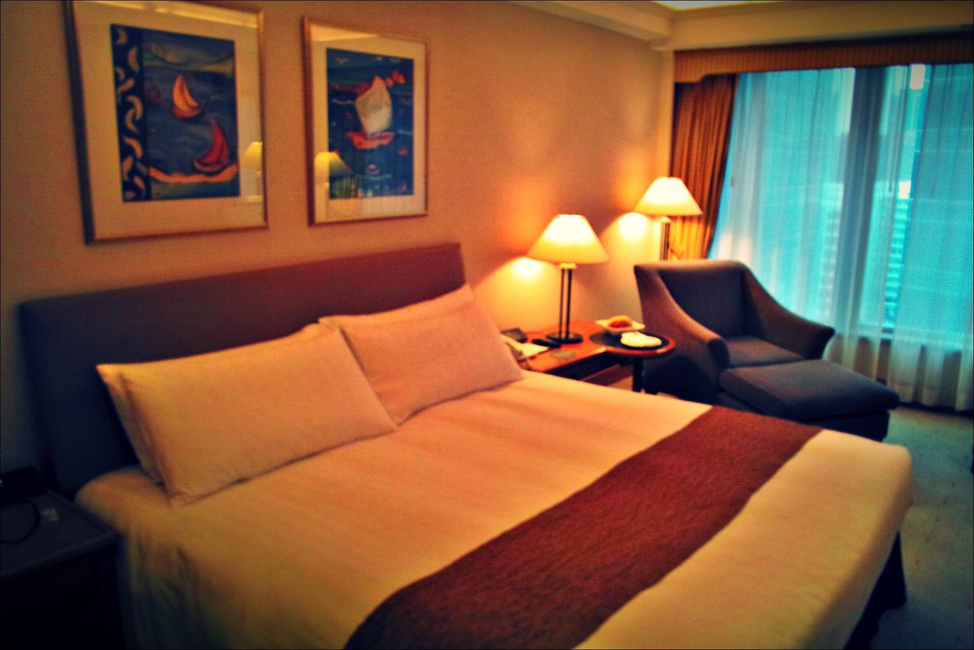 침대-'하버 그랜드 구룡 호텔, 홍콩 (Harbour Grand Kowloon, Hongkong)'