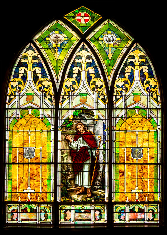 Stained Glass, Window, Church Window, Church,