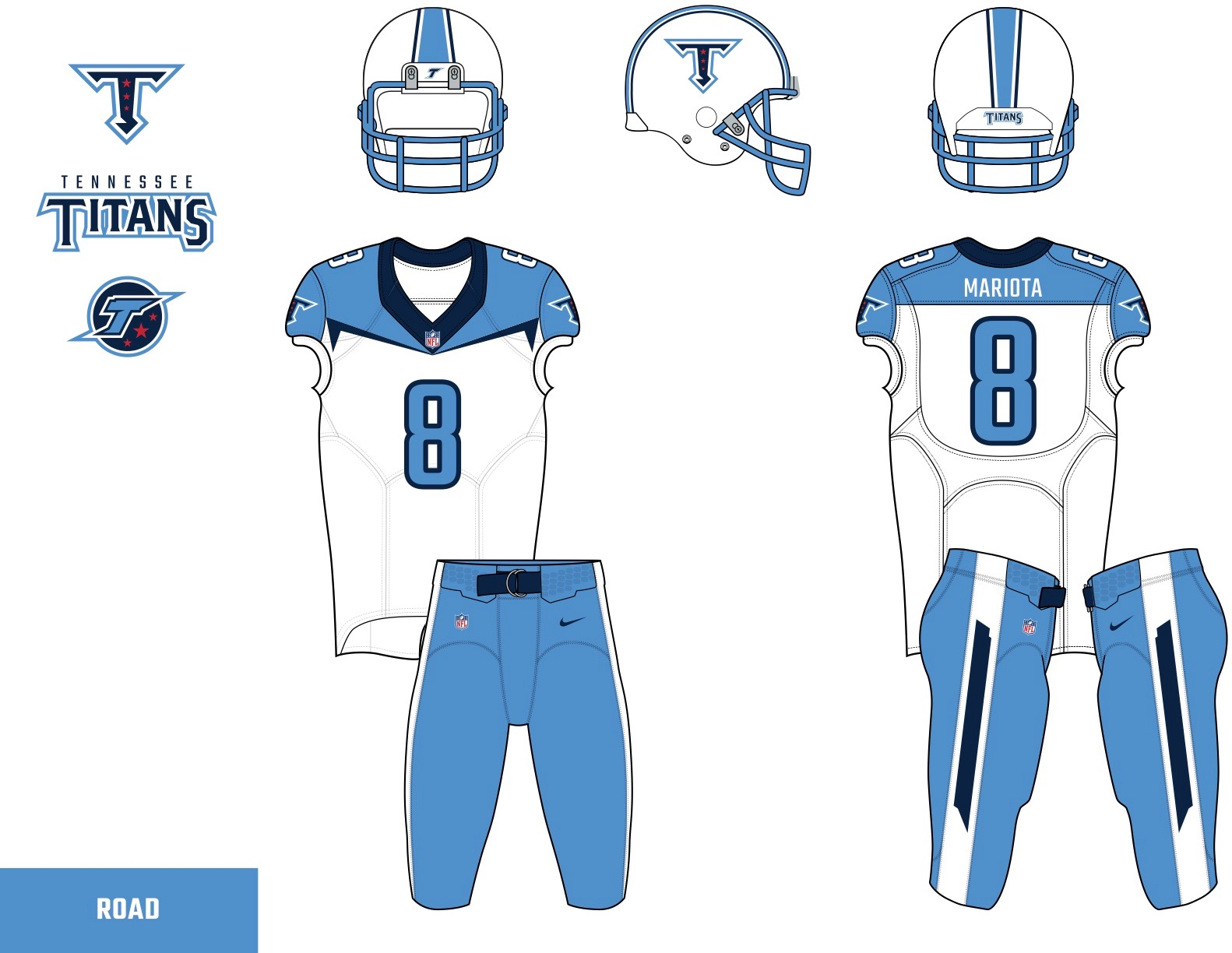 d59a1cb1 The readers deliver their submissions for the Titans' uniform redesign