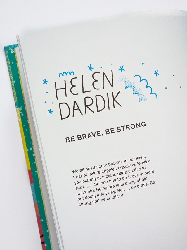 helen dardik - be brave, be strong
