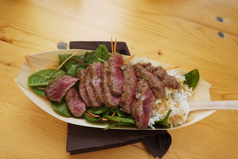 Asian roast beef