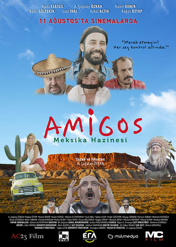 Amigos: Meksika Hazinesi (2017)