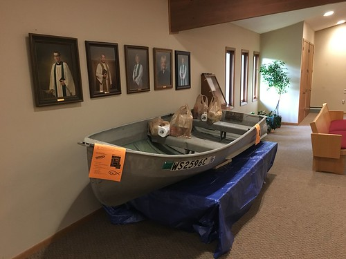 Fwd: Boat in narthex | by faithcolumbuswi