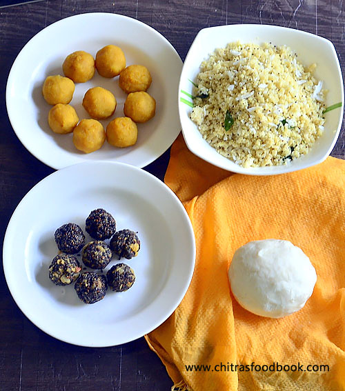 Kozhukattai dough recipe
