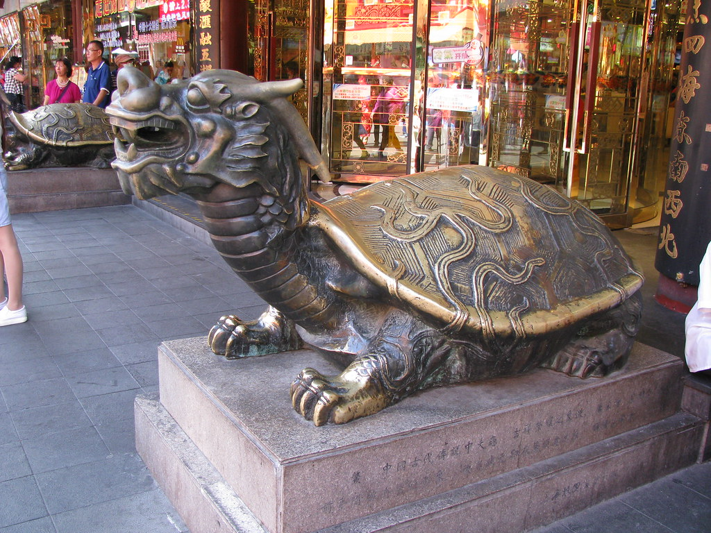 The dragon turtle is a symbol of longevity in china flickr the dragon turtle is a symbol of longevity in china by shankar s biocorpaavc Image collections