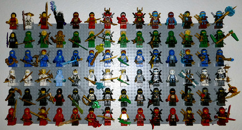 Ninjago-Minifigures | by Xccj