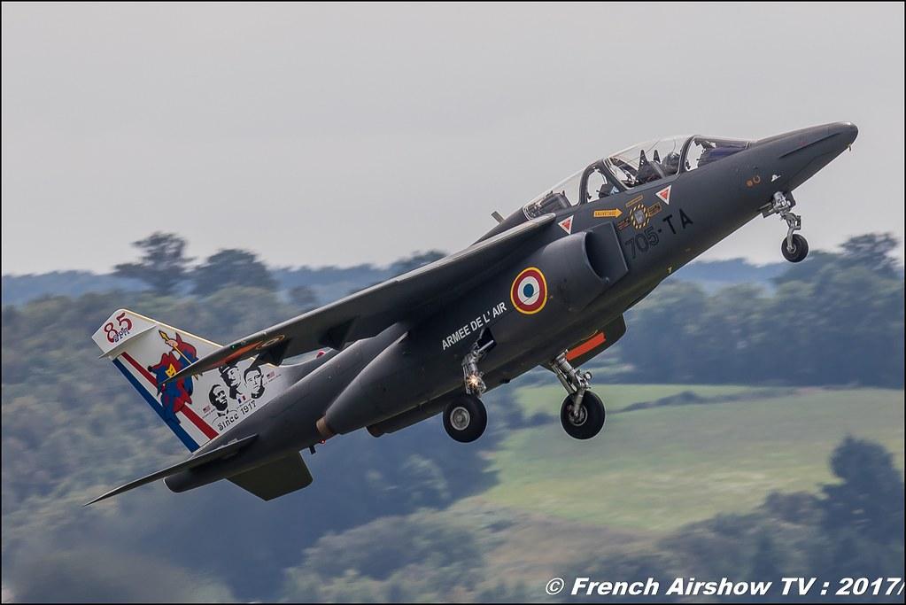 alphajet solo display 2017 premiere guerre mondiale, Tator ,JPO Aurillac 2017 , Meeting Aerien Aeroclub du cantal 2017