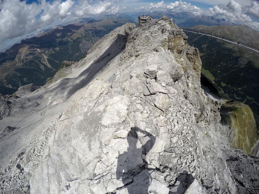 Klettersteig Tabaretta : Klettersteige im ortlergebiet