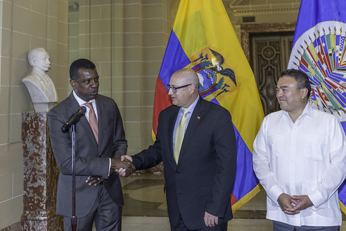 Ecuador Assumes Chair of the OAS Inter-American Council for Integral Development