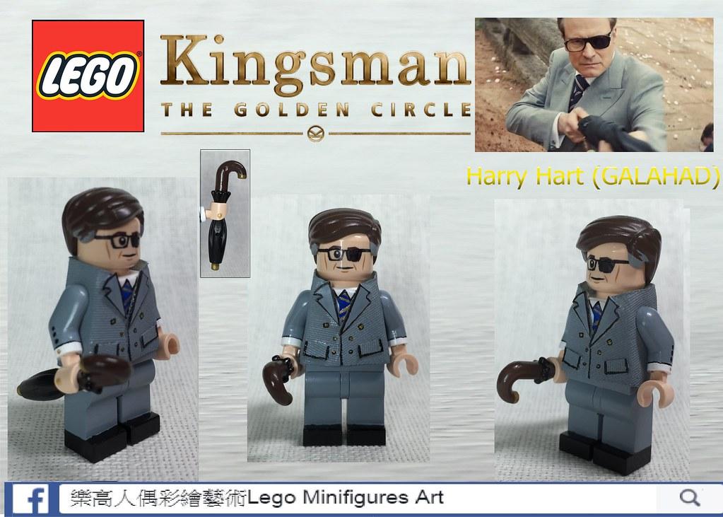 MOC LEGO Kingsman 2: Harry Hart | LMA Customs | Flickr