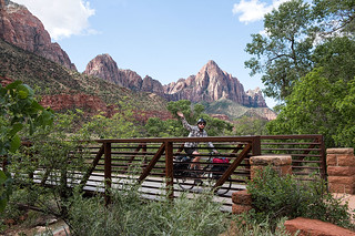 Touring-Cyclist-at-Zion-NP-email | by Matthew J Brennan