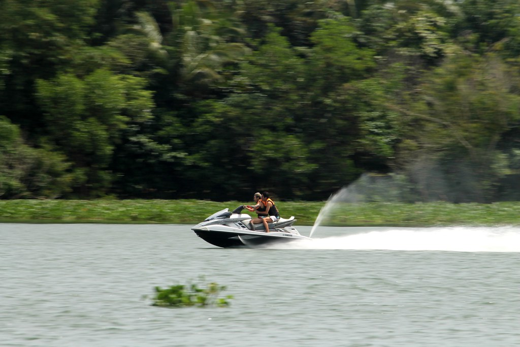 Jetski at Aquascape Lake Caliraya | Aquascape Resort, Eco ...