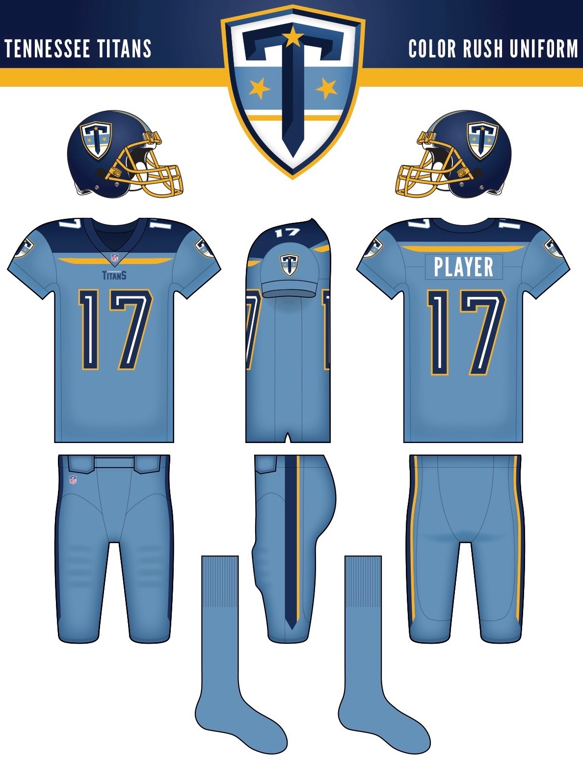 c98cad6cf The readers deliver their submissions for the Titans  uniform redesign
