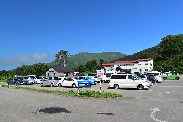 月山姥沢駐車場