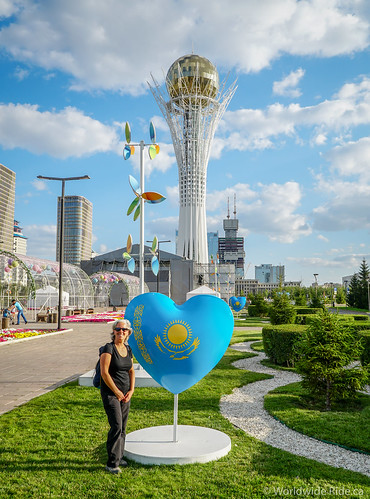 Kazakstan Astana | by Worldwide Ride.ca