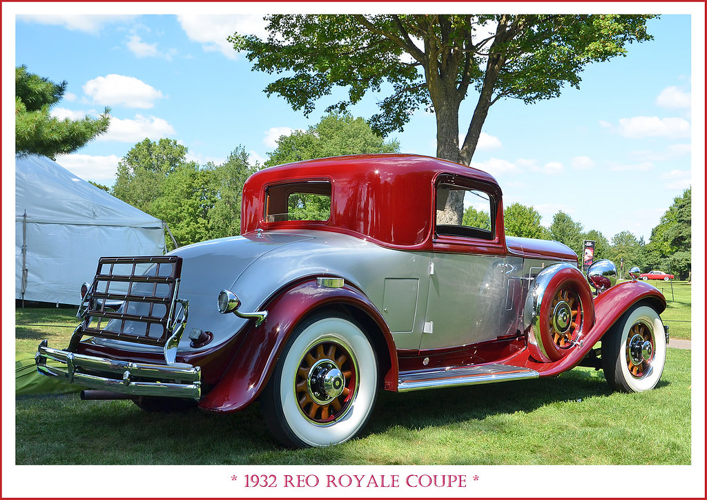 1932 Reo Royale Coupe Photographed On July 29 2017 At