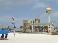At Pensacola Beach