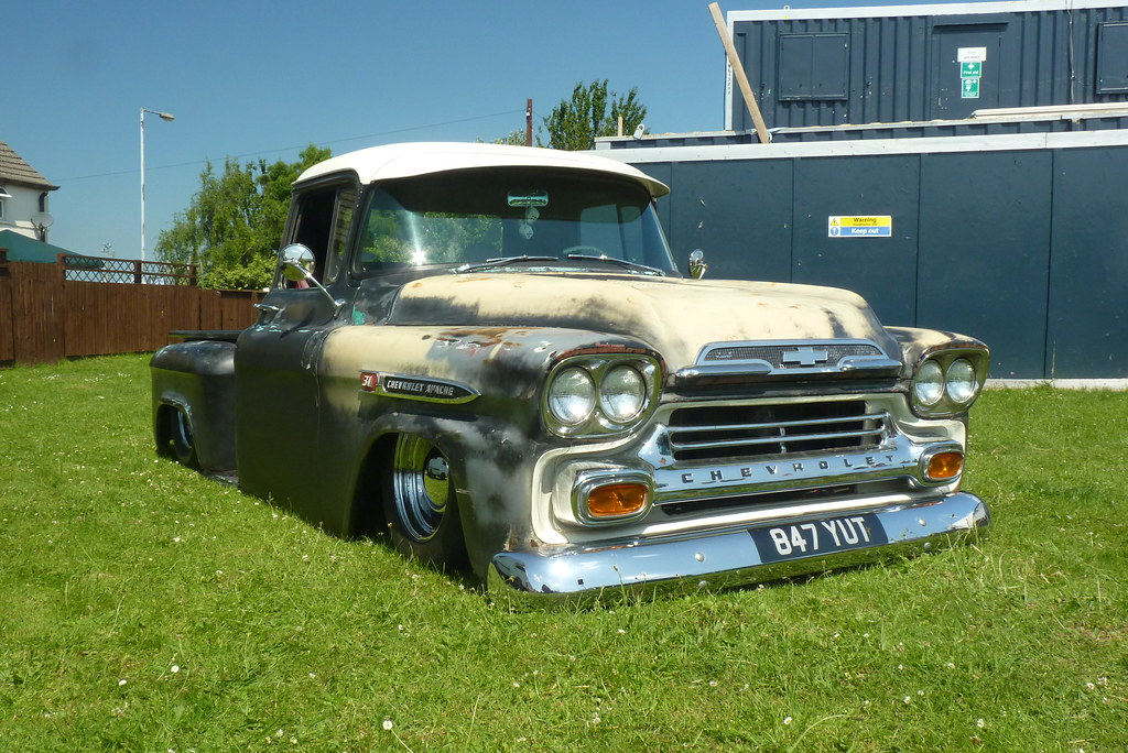 Chevrolet Apache Rat Rod Pickup 847 Yut As Seen At The Flickr