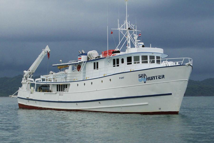 Sea hunter buceo Cocos Island