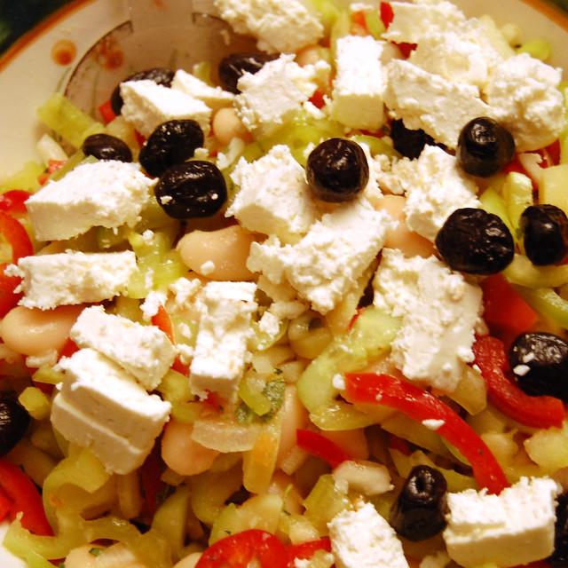 Griechischer Bauernsalat ... Brigitte Stolle