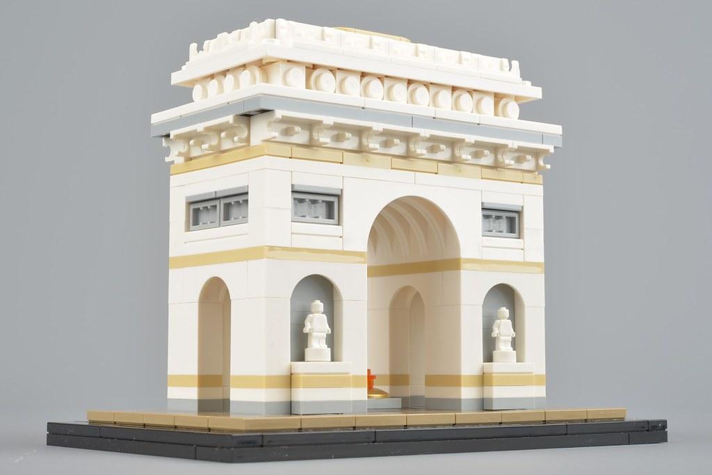 lego architecture 21036 arc de triomphe review brickset. Black Bedroom Furniture Sets. Home Design Ideas