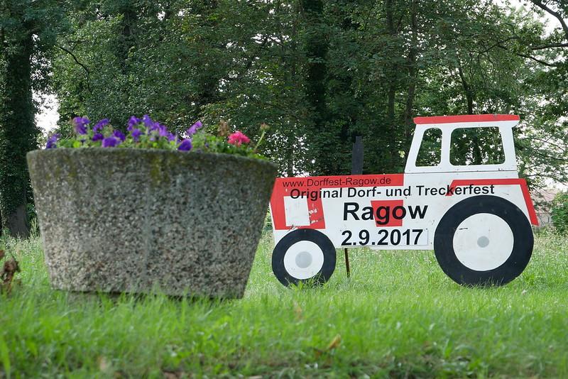 Dorf- und Treckerfest in Ragow am 2. September 2017