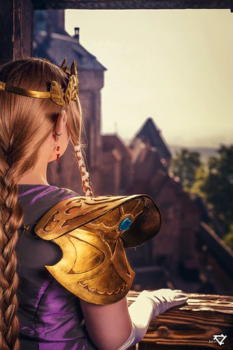Zelda at Haut Koenigsbourg castle - France | by ...nelene...