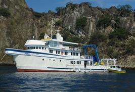 Argo vida a bordo Isla del Coco