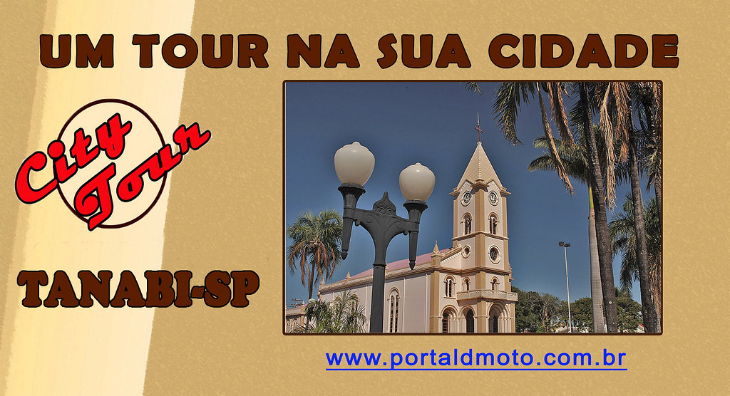 CITY TOUR = TANABI/SP