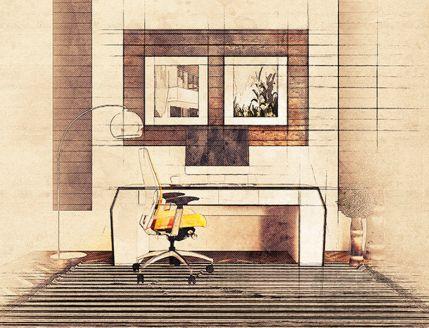 Architecture Sketch - Photoshop Action