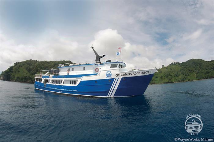 Okeanos Agdressor II Isla del Coco