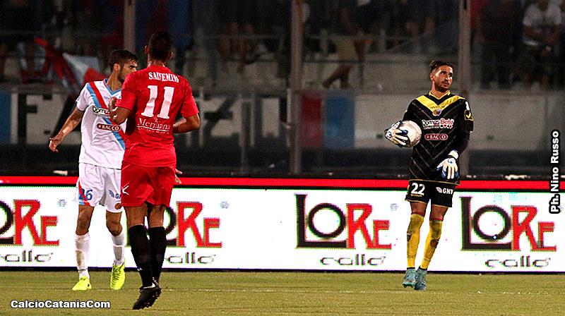 Martinez al debutto ufficiale con la maglia del Catania