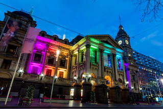 Rainbow Town hall | by wolfcat_aus