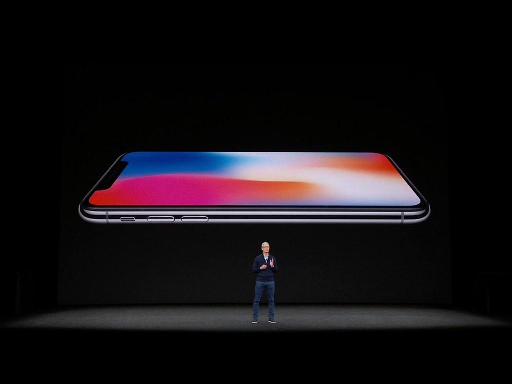 Apple Presentation Sharp New IPhone X Mark Mathosian