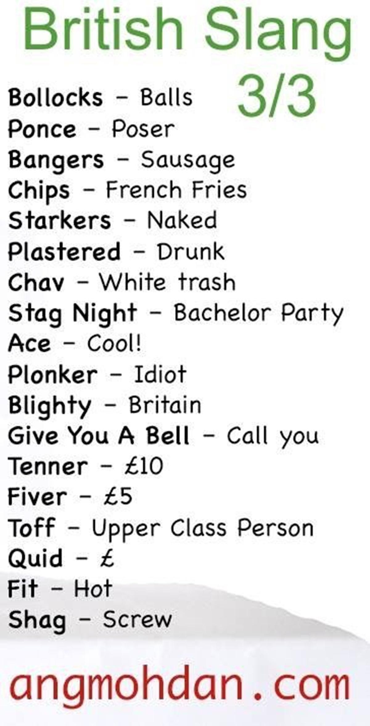 British English Slang Everyone Need to Know … 3