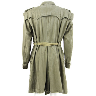 Vintage Military Trench Angelo