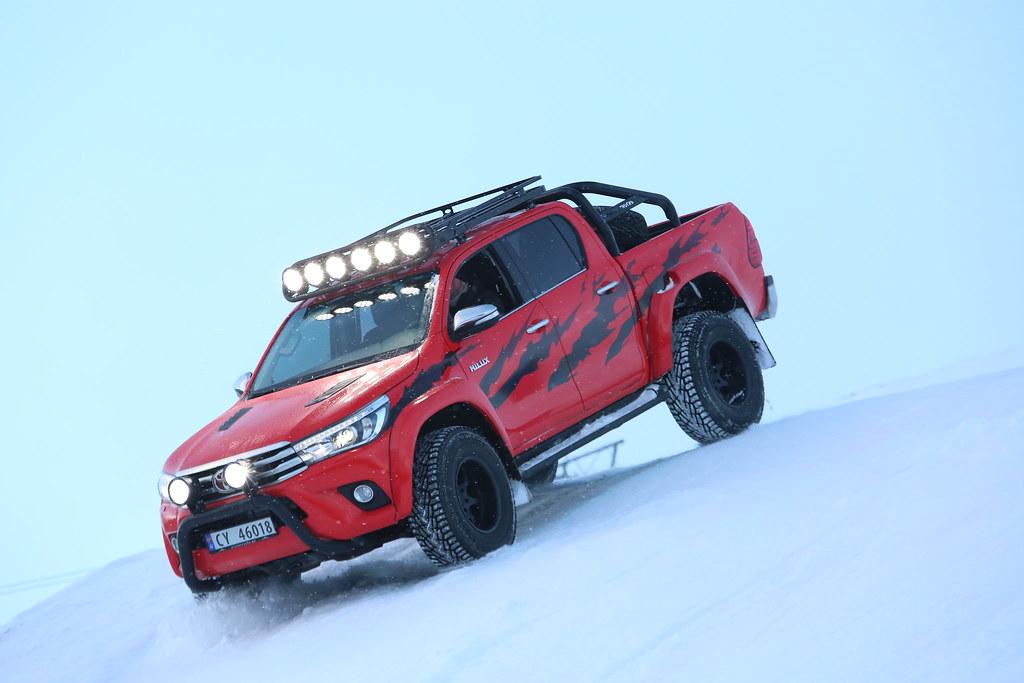 Toyota Hilux At35 B 248 Rning2 Edition Bilen Som Ble Brukt I
