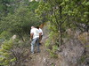 Redémarrage après déjeuner : démaquisage vers le ruisseau de Funtana Russa