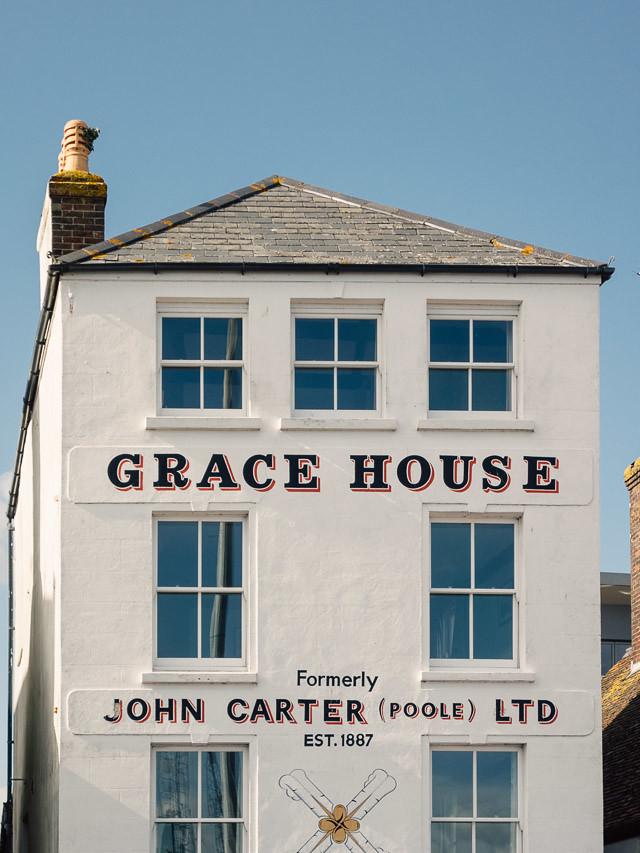 grace house, poole, dorset