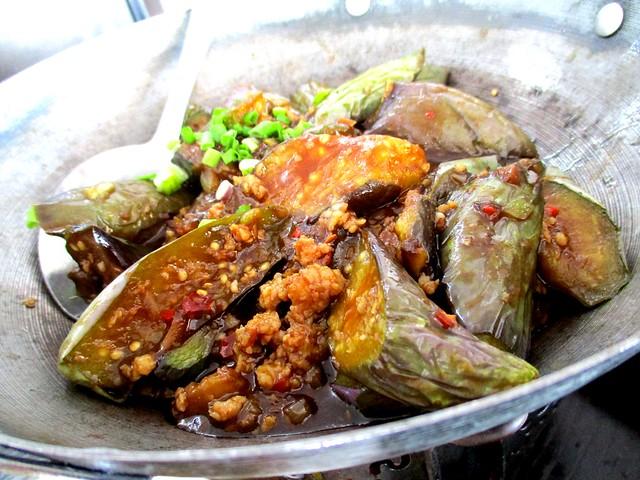 My Chef Restaurant salted fish brinjal