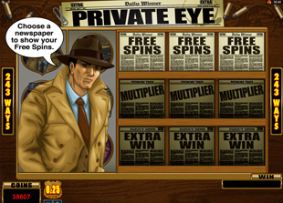 Private Eye Slot Feature