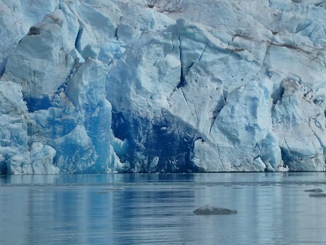 Frente glaciar en Groenlandia