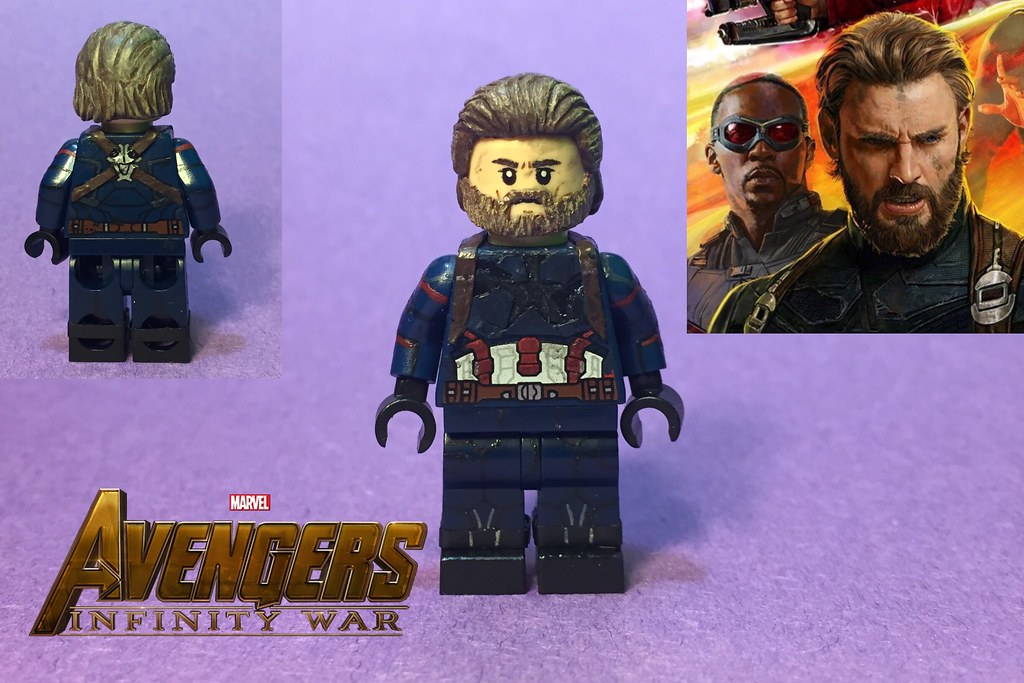 Steve Rogers From Avengers Infinity War First Off Huge