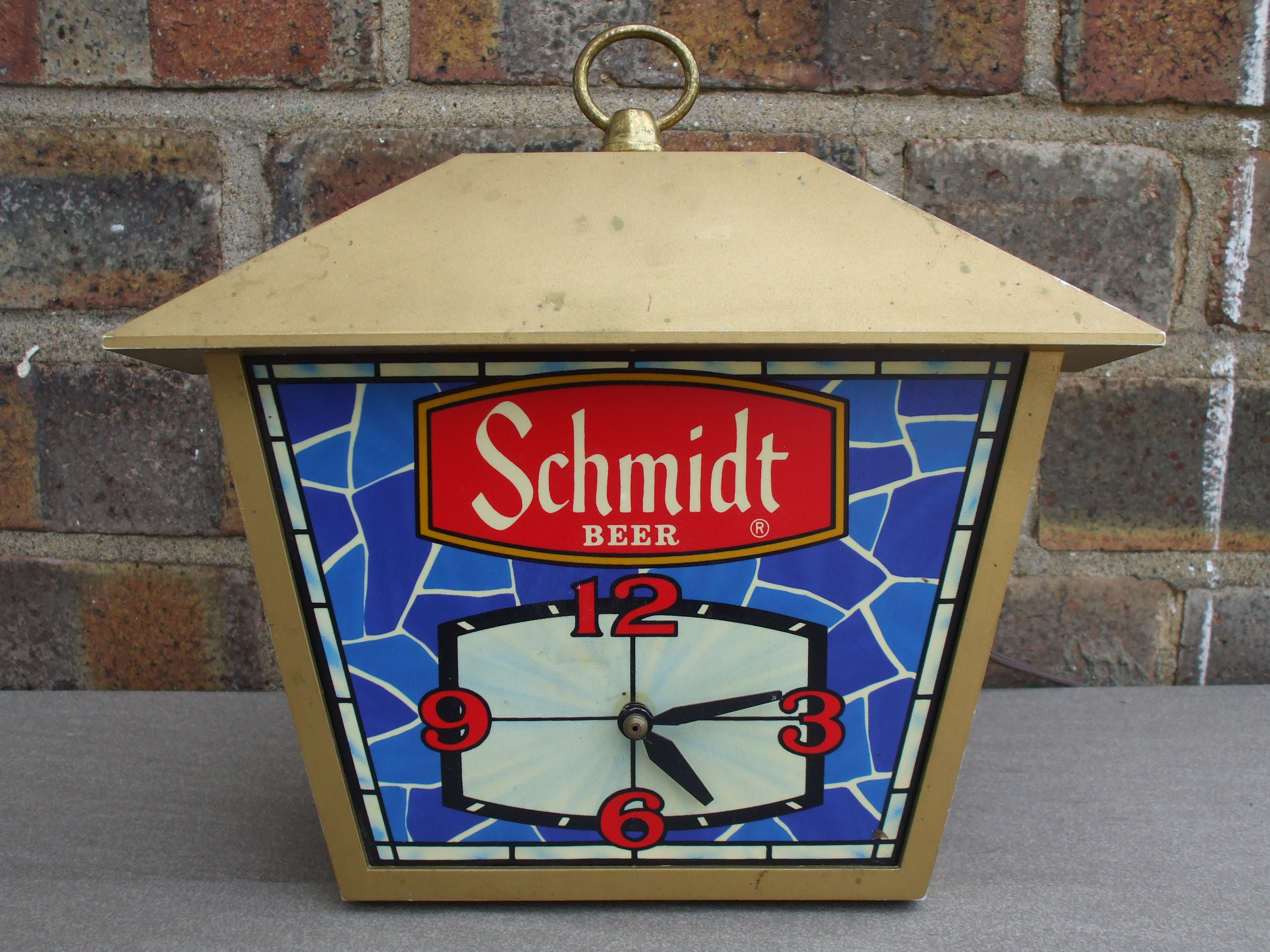 Schmidt Beer clock - era unknown