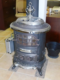 Merit #120 cast/chrome wood stove | by thornhill3